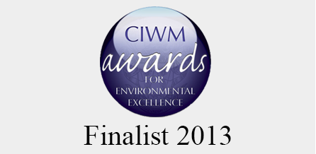 We were runners up in the CIWM Awards